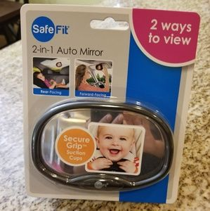 Baby rear car mirror